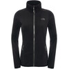 The North Face W's 100 Glacier FZ Jacket Tnf Black